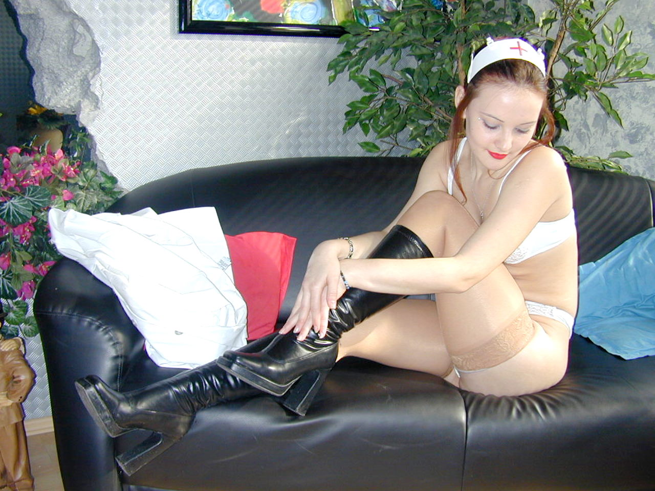 uniform sex stockings