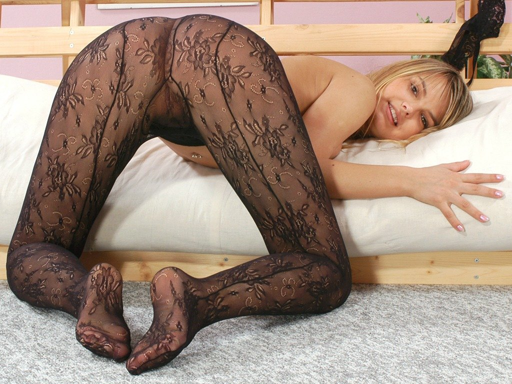 Fetish pantyhose nylon stockings porn