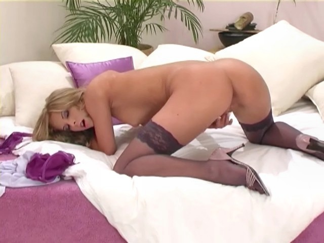 hot girls in thigh highs fucked