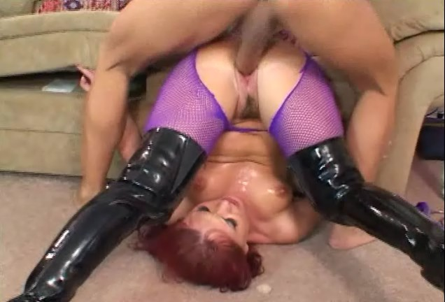Katja kassin having upside down anal sex in ripped fishnets. Free Video 3